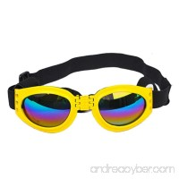 New Fashionable Water-Proof Multi-Color Pet Dog Sunglasses Eye Wear Protection Goggles Small Mchoice - B07411W6RB