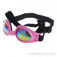 Onpiece Fashion Pet Dog Goggles UV Sunglasses Sun Glasses Eye Protection Wear With Strap - B0749LHGRK