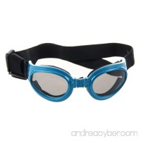 SODIAL(R) Blue Framed Pet Puppy Dog UV Protection Doggles Goggles Sunglasses Eyewear - B00KBPMKI4