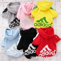 FuzzyGreen Christmas Hoodies For Dogs Apparel Hoodie Clothes Sweater Warm T Shirt Jumpsuit Little Small Girl Boy Dogs - B00NW4SYZE
