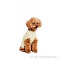 Golden Paw Knitted Jumper Dog Sweater  Dog Apparel  Warm Dog Clothes - B077N4PNGR