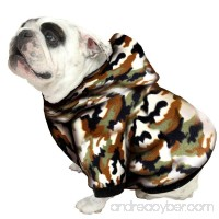 Plus Size Pups English Bulldog Dog Sweatshirts - Sizes BEEFY and BIGGER THAN BEEFY with More than 20 Fleece Patterns to Choose From! - B00C8SYC10