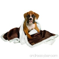 Animal Planet Sherpa Pet Blanket Brown - B00ATJSI3I