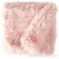 Bessie and Barnie Bubble Gum Luxury Shag Ultra Plush Faux Fur Pet Dog Cat Puppy Super Soft Reversible Blanket (Multiple Sizes) - B00LGH58V2