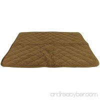 CPC Reversible Sherpa/Quilted Microfiber Throw for Pets 50-Inch Chocolate - B00N2YGYJ2