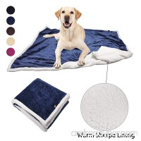 Dog Blanket Super Soft Warm Sherpa Fleece Plush Dog Blankets and Throws for Small Medium Large Dogs Puppy Doggy Pet Cats - B0756CQ822