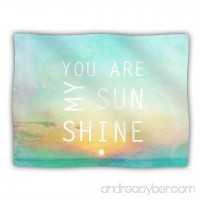 Kess InHouse Alison Coxon You are My Sunshine Pet Blanket 40 by 30-Inch - B00JRUUARW