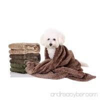 Pet Blankets  Fleece Dog Cat Blankets  Lightweight and Soft Sleep Mat for Puppy Cats Rabbit Dogs or Baby  40'' 32'' - B07796KFYZ