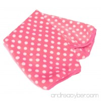 Zeroyoyo Pet Supplies Soft Polka Dot Dog Cat Blanket Warm Mat - B019MSXJHQ