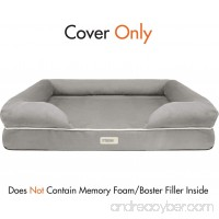 100% Suede Super Deluxe Upgrade/Replacement Cover for Friends Forever Bed/Couch Dog Bed - B01LXP98HW
