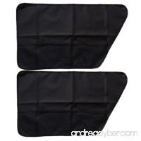 2 PCS Pet Dog Seat Cover Car Front Rear Door Panel Protector Scratch Guard - B0788V5HJL