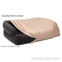 4Knines Luxury Dog Bed Cover - USA Based - Premium Durable Quilted Waterproof Heavy Duty Material - B01C396A86