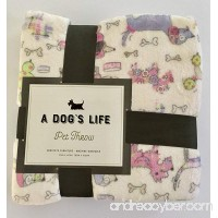 A Dog's Life Pet Throw/Blanket - A Pet's Gift - B0784V724T