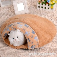 Coco*store Soft Warm Cat/dog Kitten Cave Pet Bed House Puppy Sleeping Mat Pad Igloo Nest - B01A6DDSCW