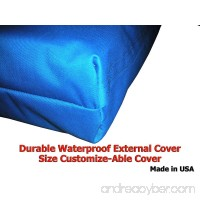 Customizable 40x28x4 Waterproof External Dog Bed Cover Only - B00BTR55N0