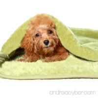 Weone green soft pet puppy cat sleeping bag dog Cat Bed Llitter Cat Sleeping Bag pet sleeping bag teddy Chigoes kennel Dog Sleeping bag cat house - B06W57GJZ8