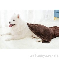 Winthome Reversible Dog Bed Blanket  Large Pet Flannel Soft Throw - B078XPJ6PD