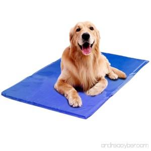 Pet Cooling Mat Legendog Cat Dog Self Cooling Mat Gel Pad for Kennels Crates and Beds - B074SD8JKD