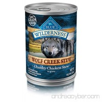 Blue Buffalo Wilderness Wolf Creek Stew High Protein Grain Free Natural Wet Dog Food - B00KJH3542