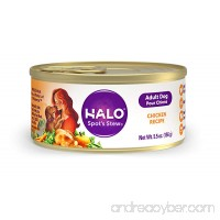 Halo Holistic Natural Wet Dog Food for Adult Dogs - B003YH9E4E