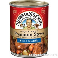 Newman's Own 12oz Premium Stews for Dogs  Pack of 12 - B071ZJ21ZZ