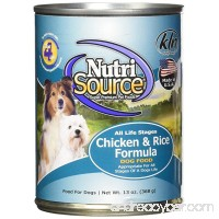 Tuffy's Pet Food NutriSource 12-Pack of 13 oz Canned Food for Dogs - B007SWYDAQ