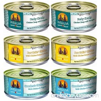 Weruva Grain Free Canned Dog Food Variety Pack 5.5 oz Each 3 flavor - B0147M2BTY