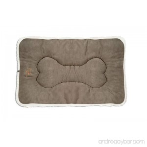 Best Pet Supplies Double-Sided Crate Mat X-Large Olive Green Suede - B0024MMHSA