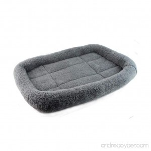 Doggy Pad Neartime Dog Blanket Pet Soft Cushion Cat Bed Warm Sleep Mat (Gray) - B01LWTSUM4