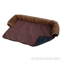 HappyCare Textiles Reversible Rectangle Pet Bed with Dog Paw Printing Medium size - B01N137SCF