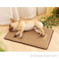 Kingswell Pet Cooling Mat for Dogs & Cats Breathable Self Cooling Pad Ultra Soft Comfortable Blanket Bed for Large Dog and Cat Sleeping in Summer - B07DRJWR22