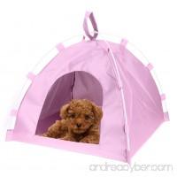 PanDaDa Pet Summer Tents Dog Bed Foldable Oxford Cloth Fiber Rod Waterproof Durable Pet Outdoor Sleeping Bed Mat - B07BKXS7PK