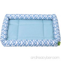 Pecute Crate Cool Bed Water Resistant Machine Washable Ultra-Durable 2 size 2 Colors - B074CWBPVL
