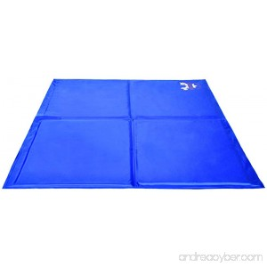 Pet Dog Self Cooling Mat Pad for Kennels Crates and Beds - Arf Pets - B0192CJRKK