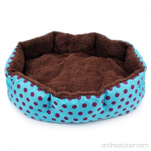 Taotaopets Lovely Octagonal Pet Bed Detachable Mats Pet Nest Small Size - B073XLMZC7