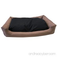 Dog Bed Stuffed Pillow with Polyester filling; Durable External OXFORD fabric Waterproof Anti Slip Cover and Inner Liner Included for Small to Large Dogs - B0722ZKLLC