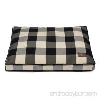 Jax and Bones Premium Cotton Blend Rectangular Pillow Bed Large Buffalo Check Crimson - B071XC4D15
