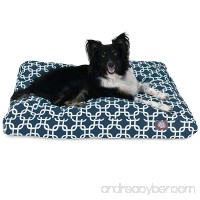 Majestic Pet Gray Links Medium Rectangle Indoor Outdoor Pet Dog Bed With Removable Washable Cover By Products - B009EQA0EW