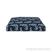 Majestic Pet Products Sea Horse Indoor/Outdoor Rectangle Dog Bed - B0166E0WM4
