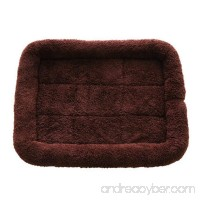 Pet Dog Nest Cushions Cat Bed Kennel Velvet Pet Mats - B0732WVQD3
