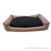 Polyester Filling Stuffed Dog Bed Pillow with Luxurious Comfortable Tough OXFORD fabric Waterproof Cover and Inner Cover for Small to Large Dogs - B072F4P9KL