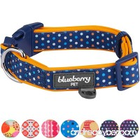 Blueberry Pet Soft & Comfortable Polka Dots  Diamond  Houndstooth Pattern Dog Collar - B073W88BTD
