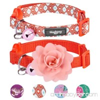 Blueberry Pet The Power of All in One Adjustable Breakaway Cat Collar with Bell & Flower - B01M4G1OEH