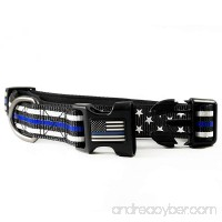 Dog Collar - Thin Blue Line (2 Styles Available) - B07956S3JB