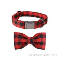 Pet Soft &Comfy Bowtie Dog Collar And Cat Collar Pet Gift For Dogs And Cats 6 Size And 7 Patterns - B075GXM4RH