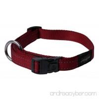 Rogz Utility Extra Large 1-Inch Reflective Lumberjack Dog Collar - B002DX8PWM