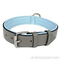 Soft Touch Collars - Luxury Real Leather Padded Dog Collar - The Capri Collection - - B018097C5S