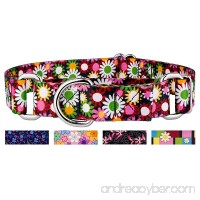 Country Brook Petz Martingale Dog Collar - Floral Collection - B07D7DRGL5