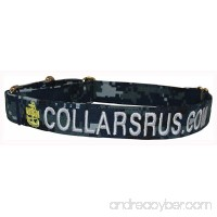 Custom Personalized Embroidered Military & Non Military Martingale Dog Collars & Leashes - B0794CTDTQ id=ASIN