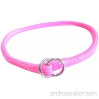 Hamilton Round Braided Choke Nylon Dog Collar - B001QRTIR2